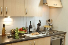 Central Passage Apartments Budapest - kitchen